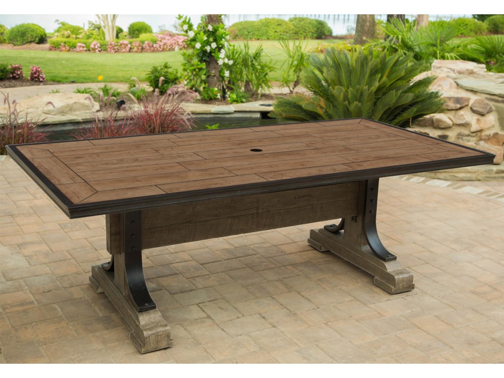 Apricity Outdoor FranklinPorcelain-Top Dining Table