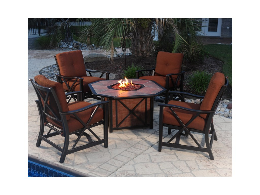 Apricity Outdoor HaywoodFirepit