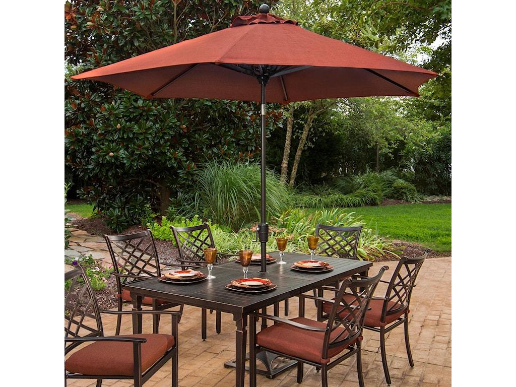 Apricity Outdoor Haywood9 Ft. Market Umbrella