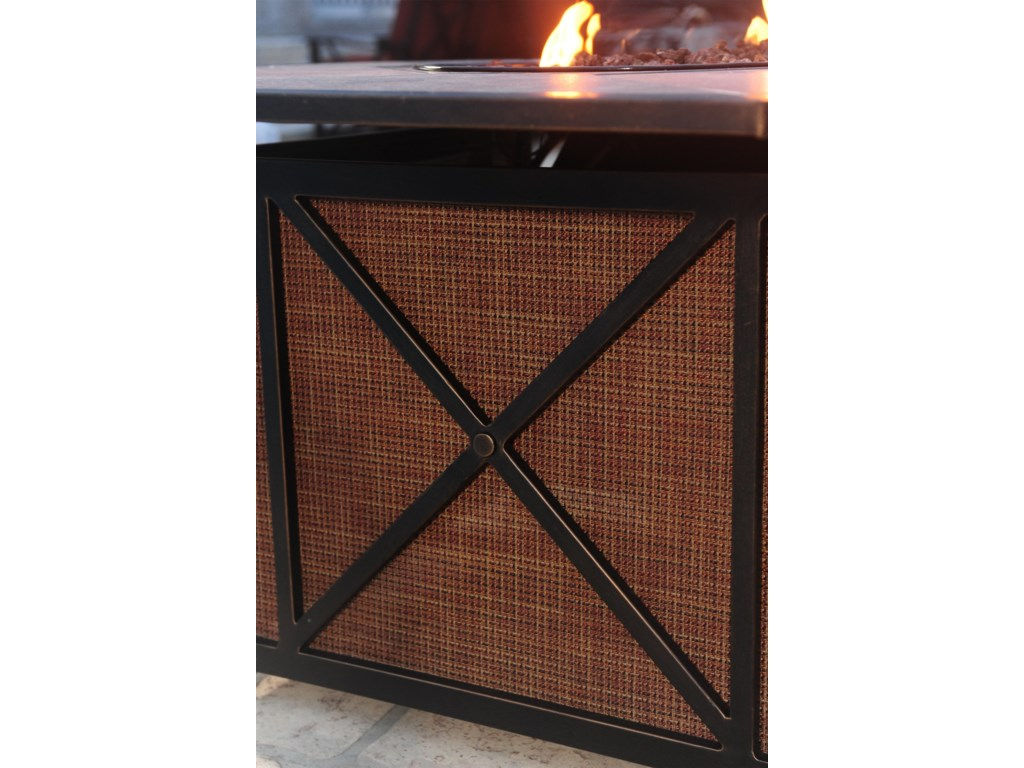 Apricity Outdoor Haywood5-Piece Fire Pit Set