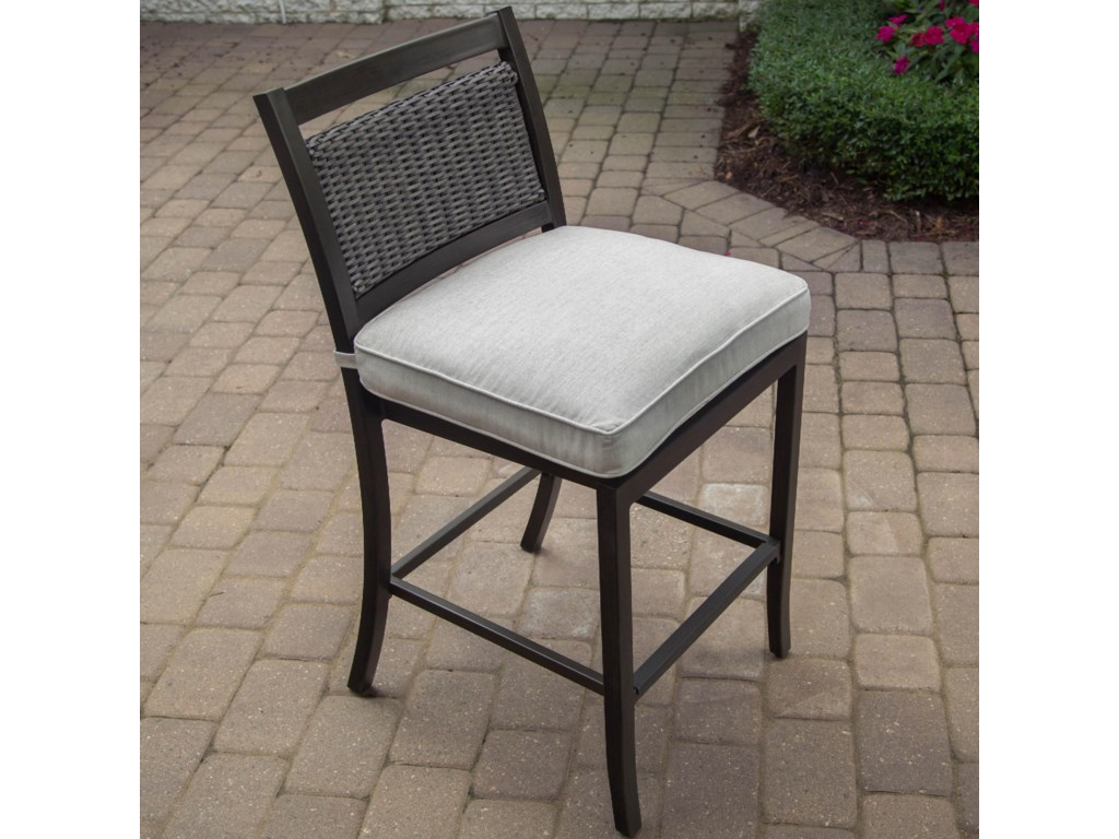 Apricity Outdoor MaddoxBar Stool