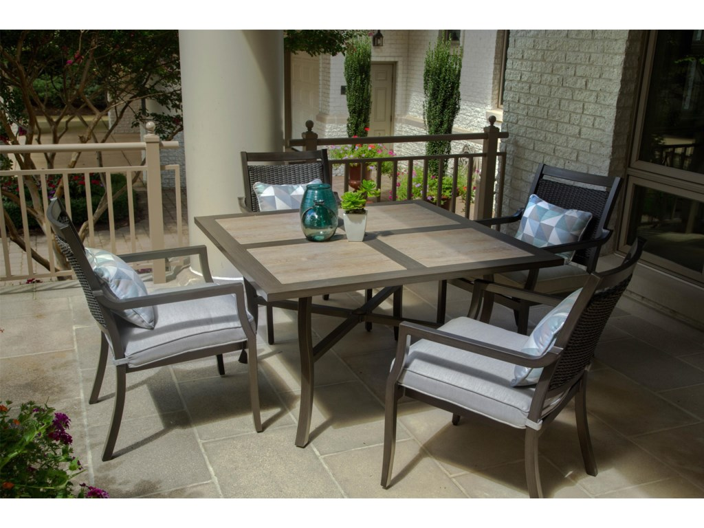 Agio MaddoxOutdoor Dining Set with Cafe Table