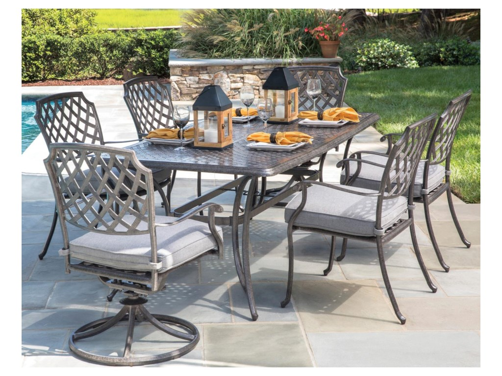 Alfresco MadisonRectangular Outdoor Dining Set