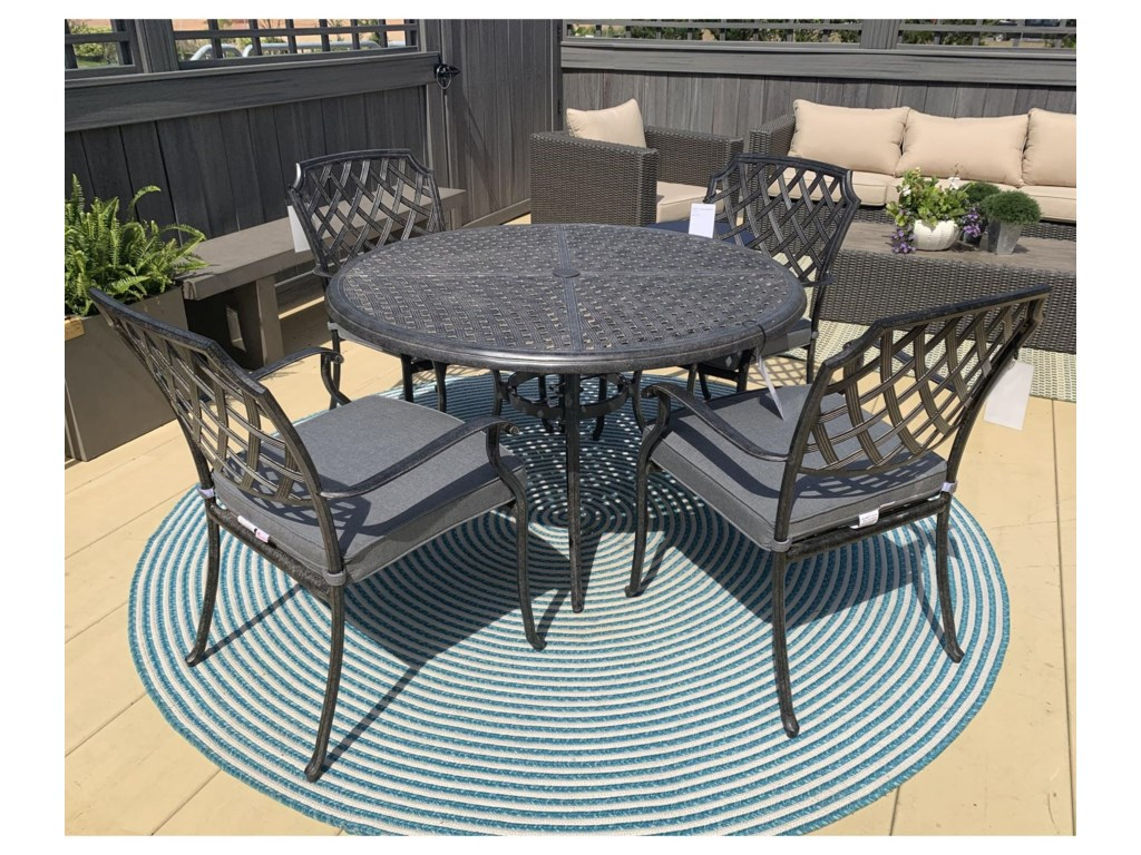 Alfresco Madison5 Piece Outdoor Dining Set