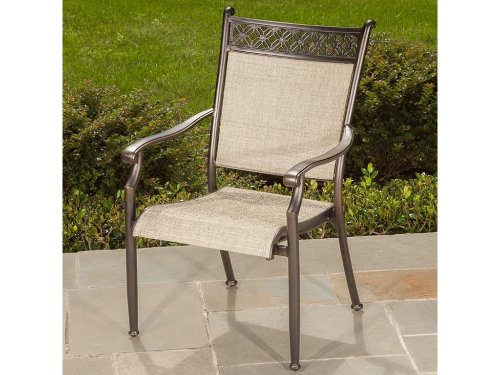 Apricity Outdoor ManhattanSling Dining Chair