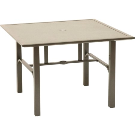 Square Outdoor Dining Table