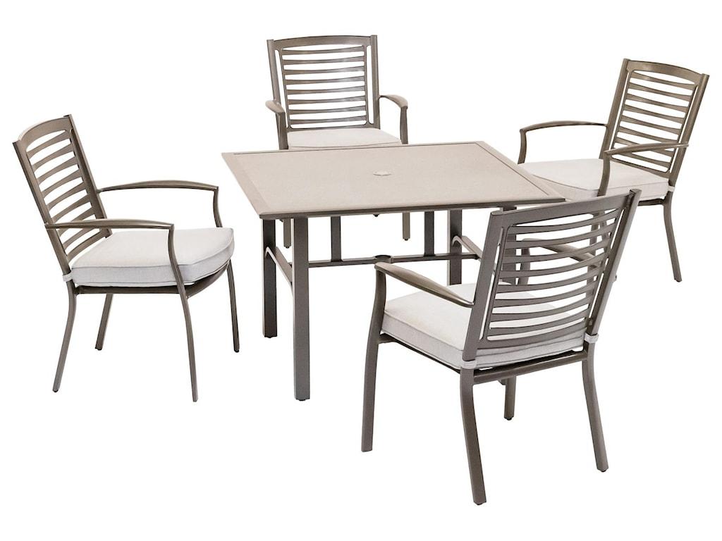 Alfresco Mason5 Piece Outdoor Dining Set