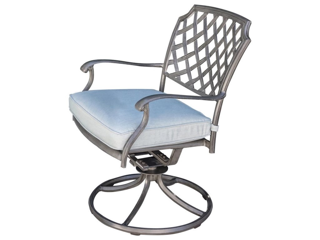 Apricity Outdoor Melbourne by AgioSwivel Rocker Chair