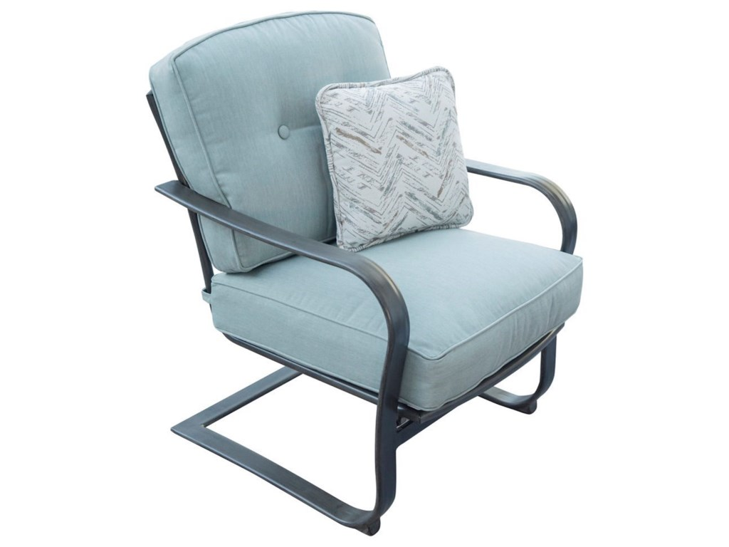 Apricity Outdoor Melbourne by AgioOutdoor Cushioned Chair