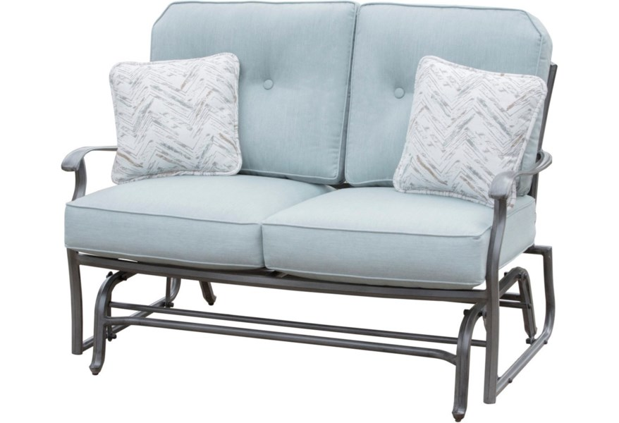 Agio Outdoor Gliding Love Seat