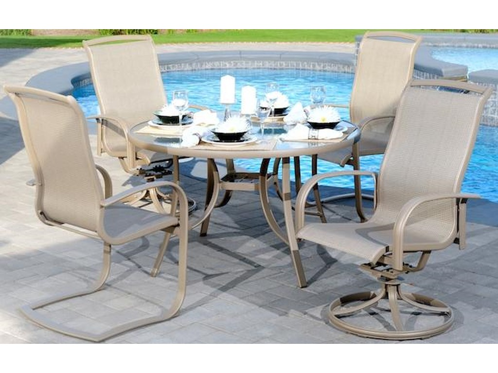 Agio Monterey 35 Piece Outdoor Dining Set