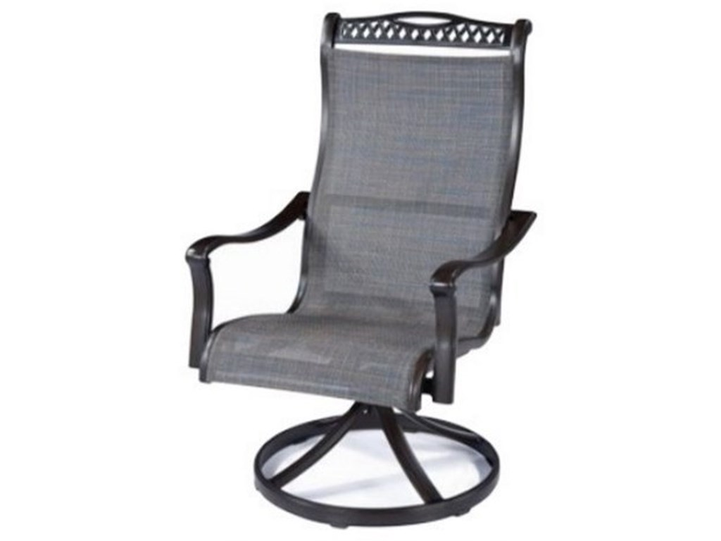 Apricity Outdoor ParkdaleSling Swivel Rocker Chair