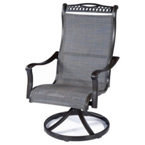 Agio ParkdaleSling Swivel Rocker Chair ...