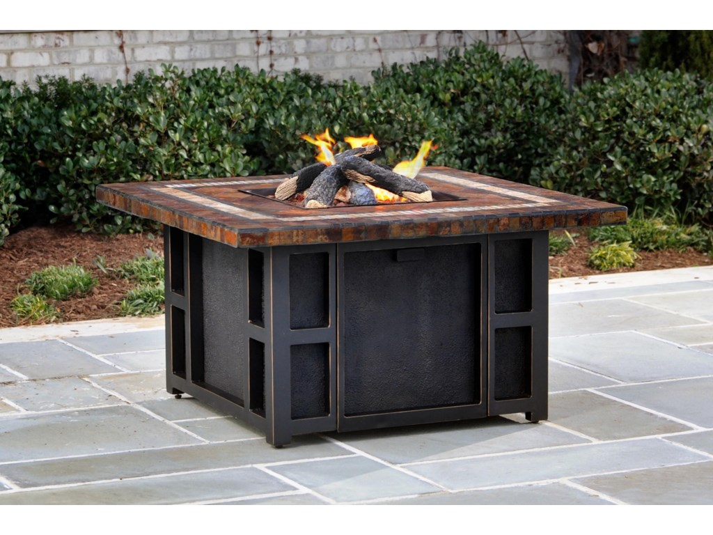 Apricity Outdoor SpringfieldGas Fire Pit