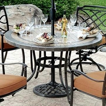 Agio willowbrook porcelain top dining table wilsons furniture agio willowbrook porcelain top dining table workwithnaturefo