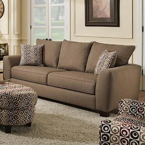Albany 0416 Sofa with 3 Loose Back Cushions
