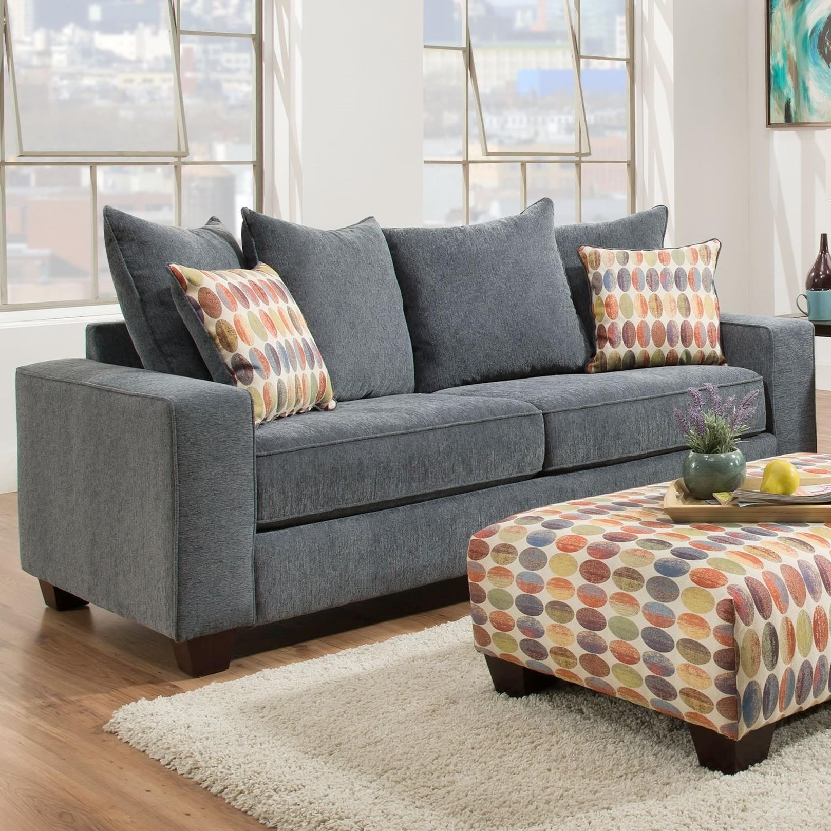 Albany 451 Sofa With Flat Track Arms