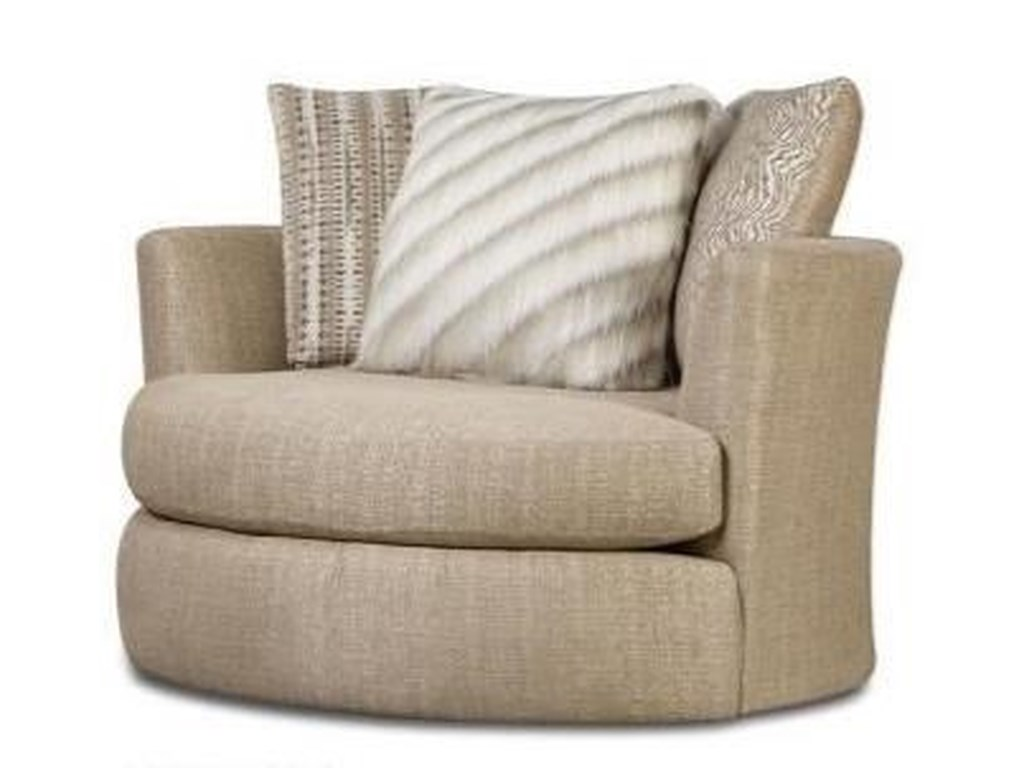 Albany 883Upholstered Swivel Chair