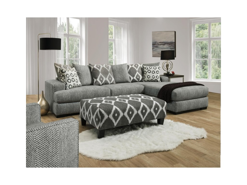 Albany 8832 Piece Sectional Sofa