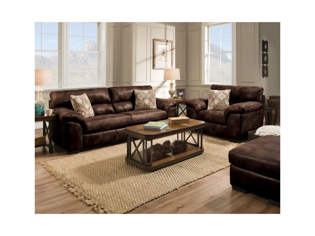 Albany 0982Casual Sofa