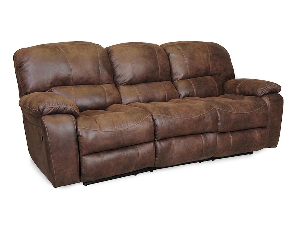 Albany 1750Casual Reclining Sofa