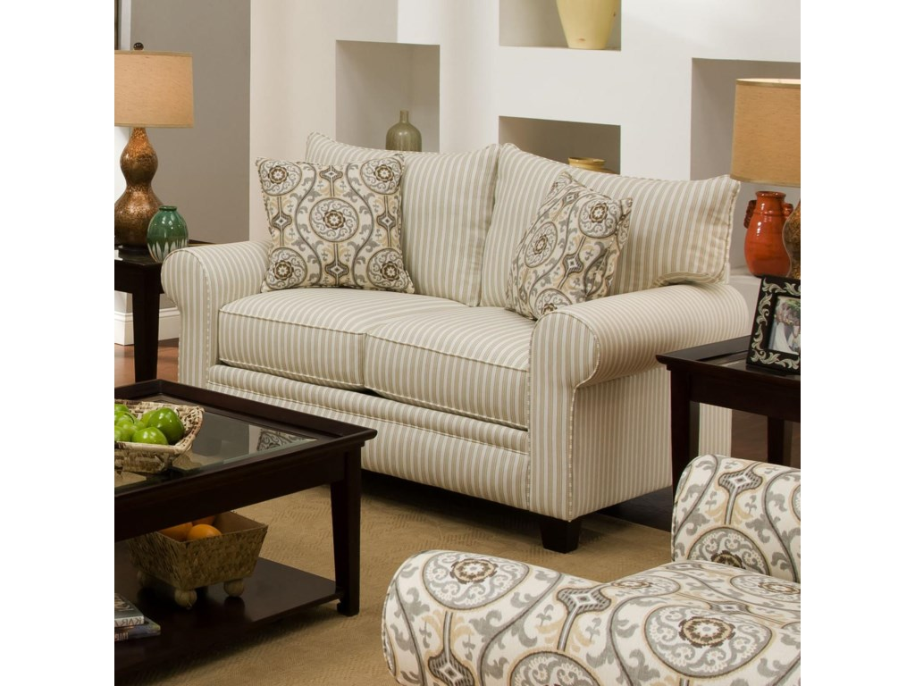 Albany 216Transitional Loveseat