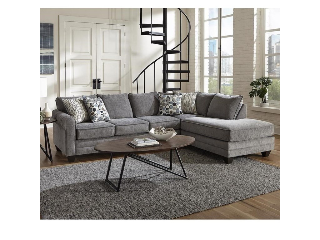 Albany 22142 PC Sectional Sleeper Sofa