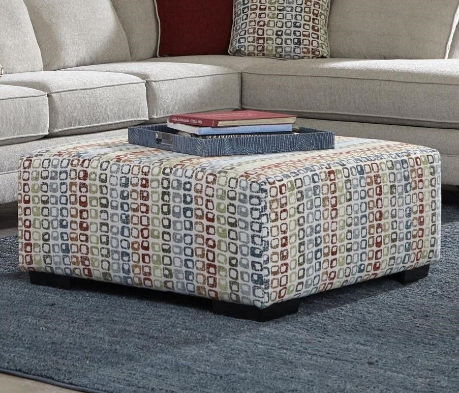 Casual Cocktail Ottoman