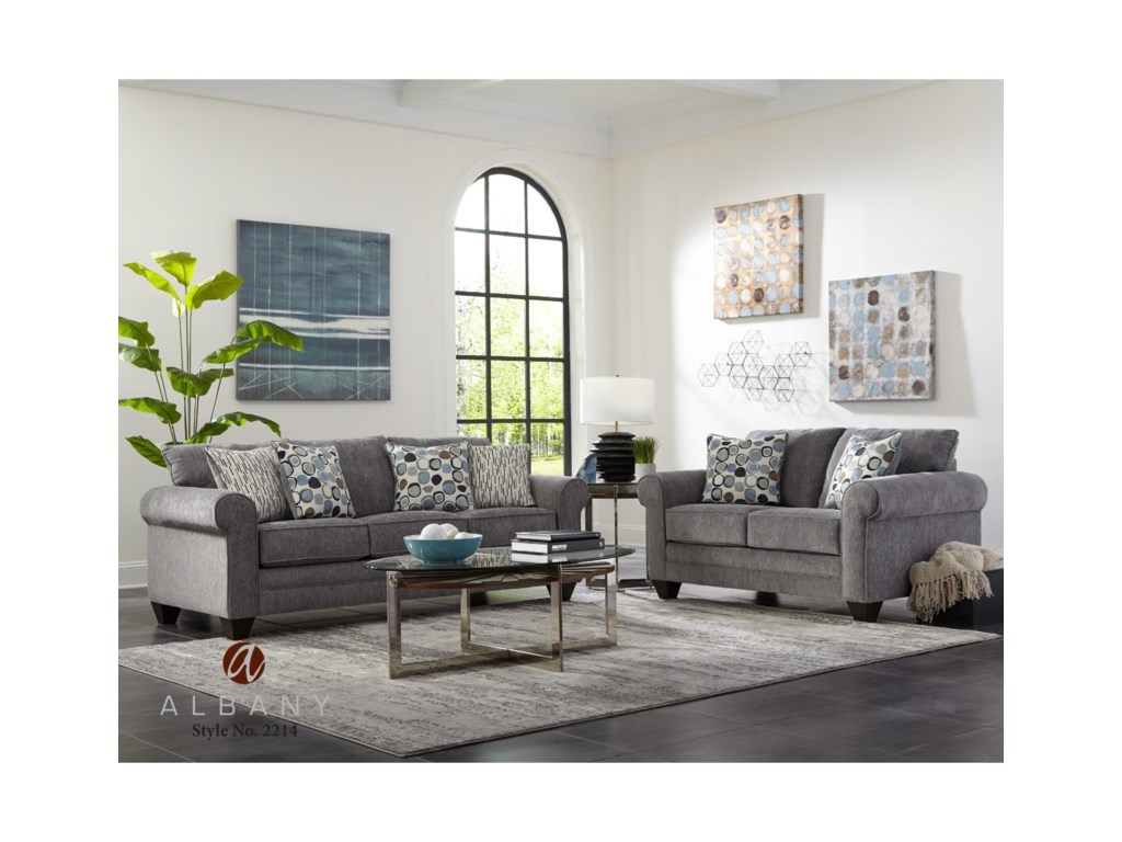 Albany 2214Queen Sleeper Sofa
