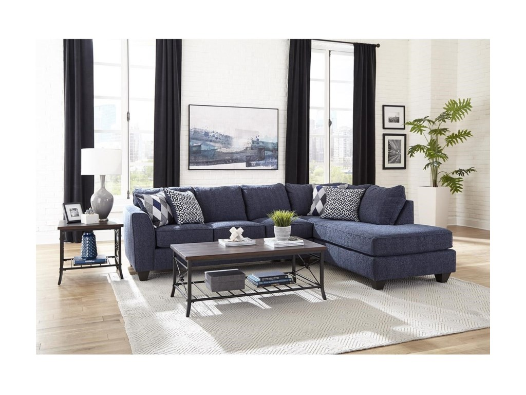 Albany 2256Sectional Sleeper with Chaise