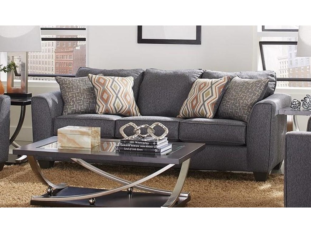 Albany 2256Three Seat Sofa - Graphite
