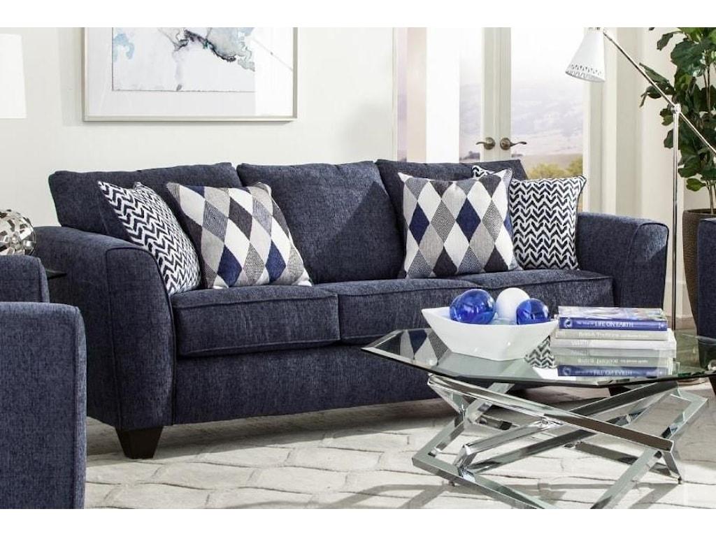 Albany 2256DenimQueen Sleeper Sofa