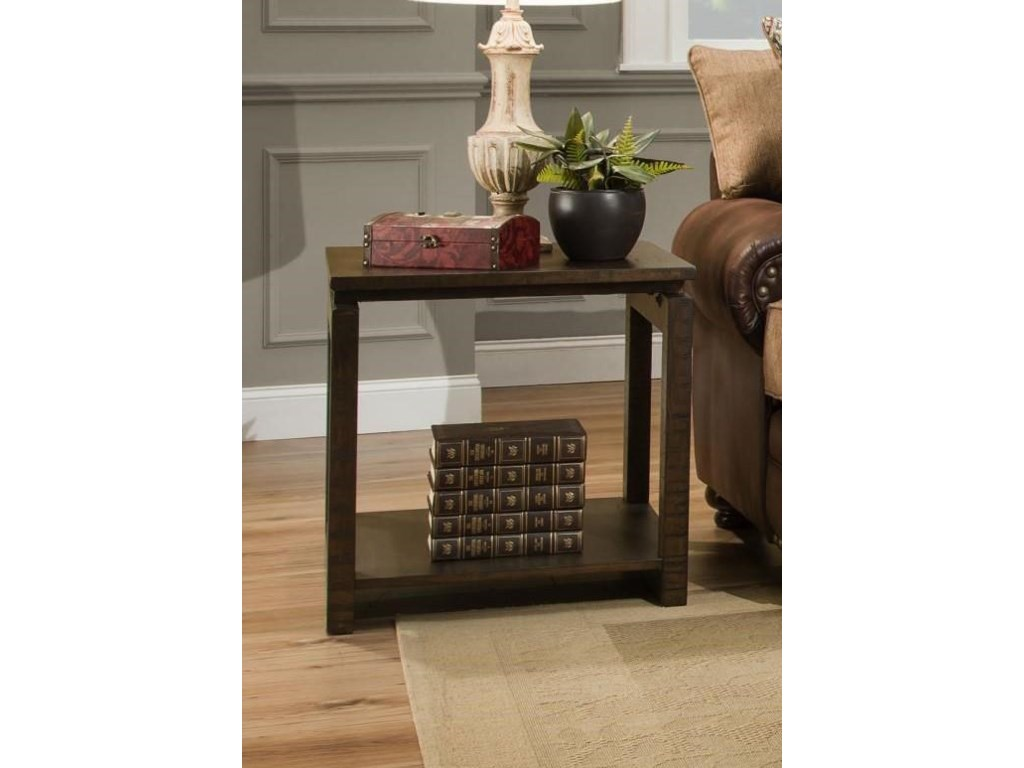 Albany FreudWalnut End Table
