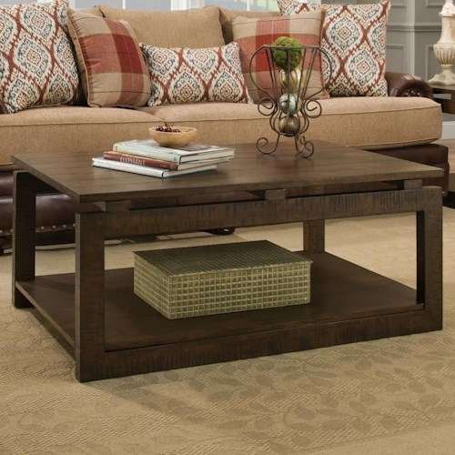 Albany 237 Coffee Table with Floating Top Design
