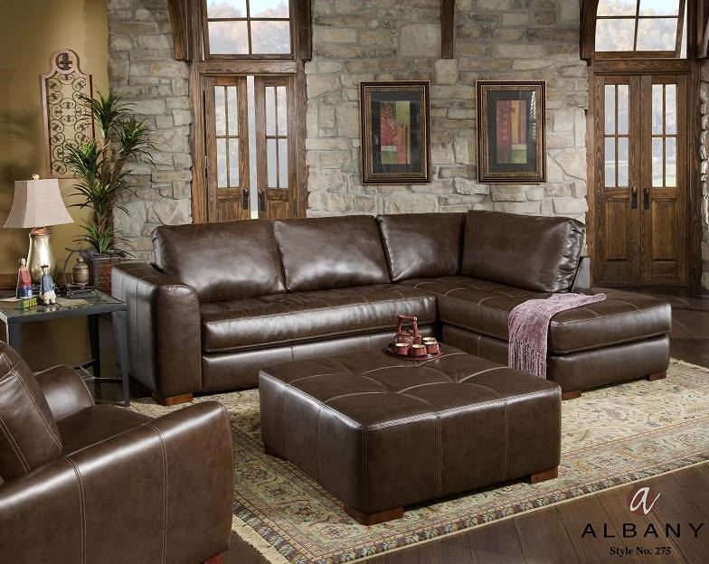 Shown with sofa sectional and reclining chair