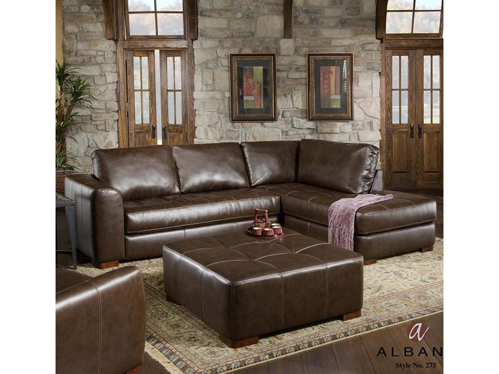 Albany 275Sectional Sofa with Chaise