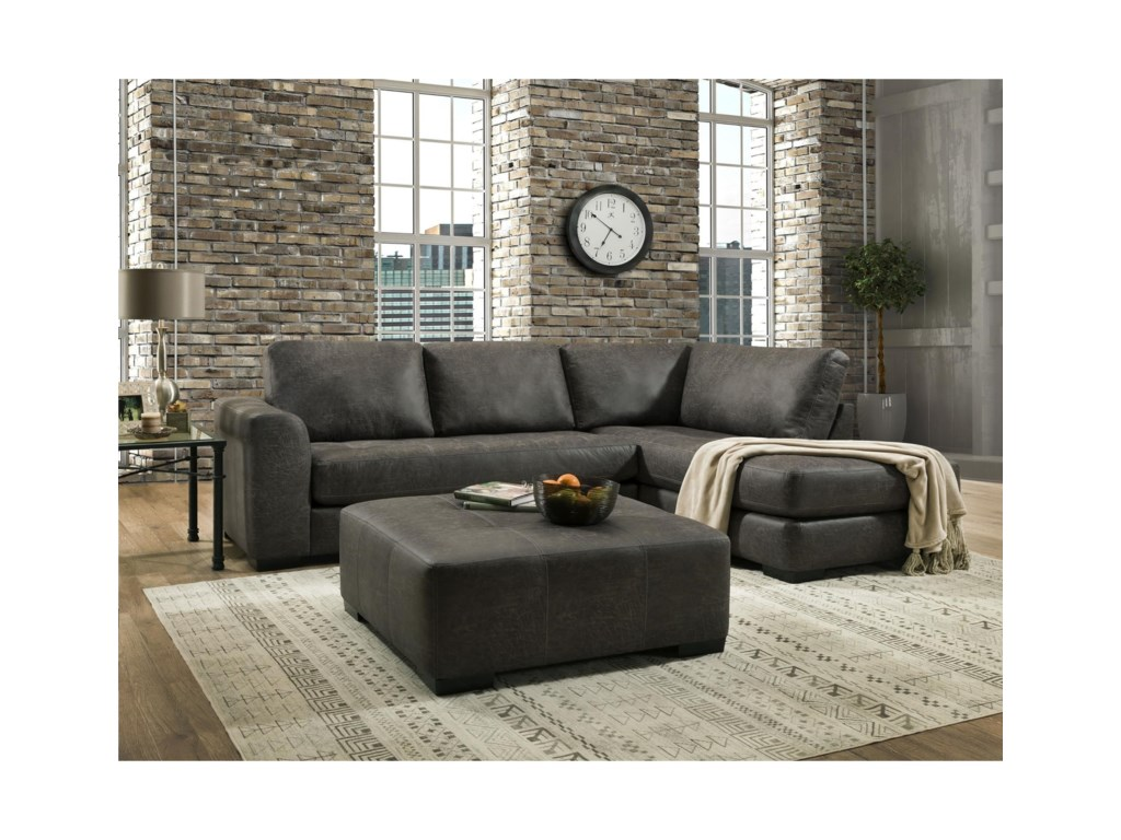 Albany 276Chaise Sectional Sofa