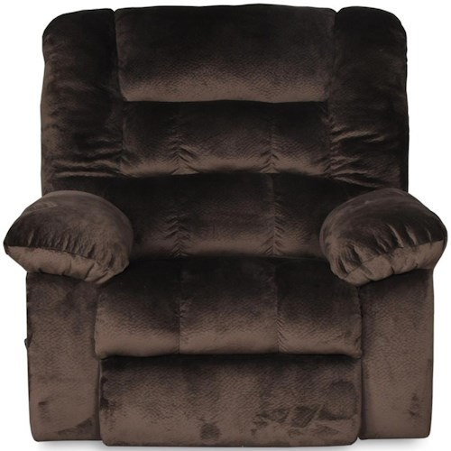Albany Sophie Rocker Recliner with Pillow Arms
