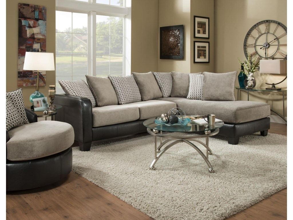 Albany 360Two Piece sectional