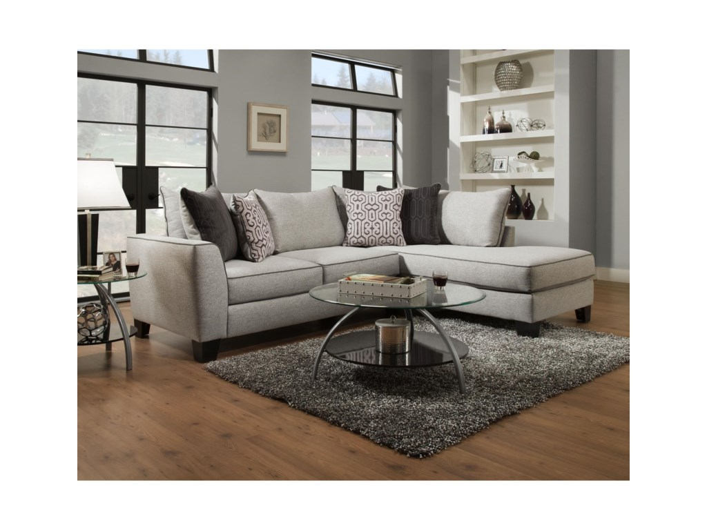Albany 3742PC Sectional