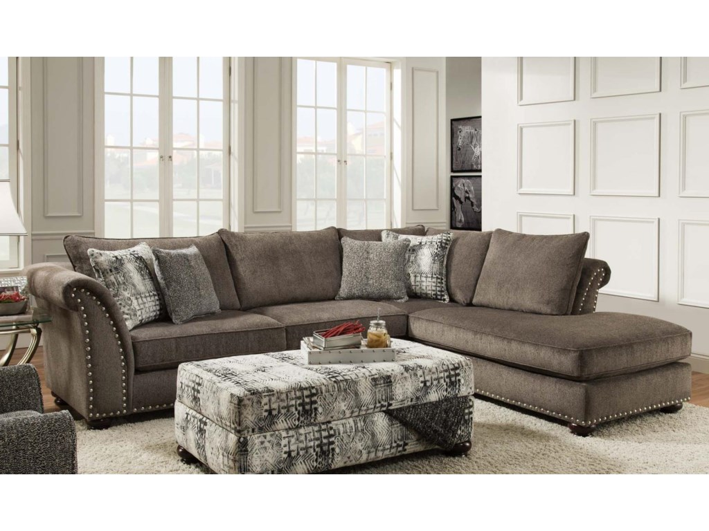 Albany 390 Two Piece Sectional