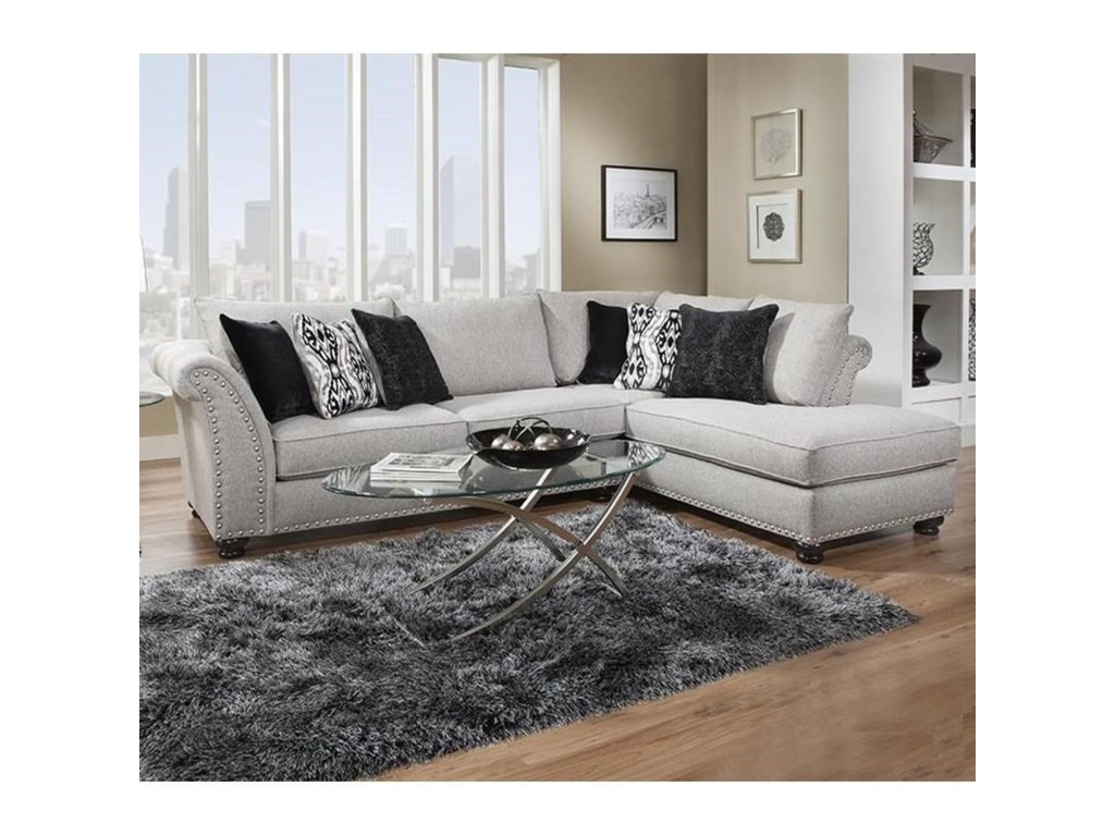 Albany 396Sectional with Chaise