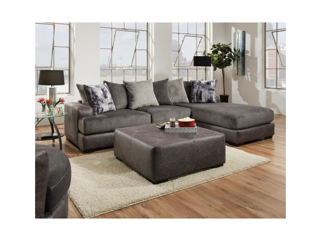Albany 6822 PC Sectional Sofa