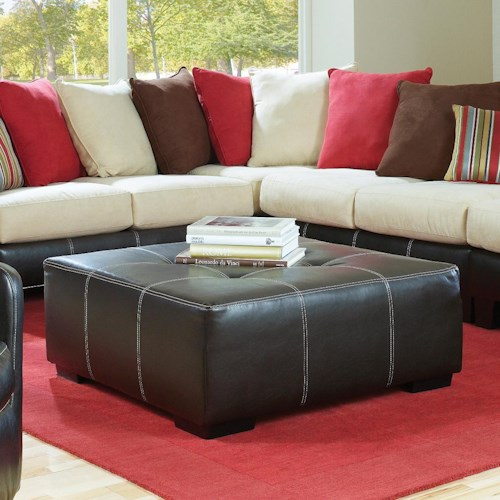 Albany 758 Large Cocktail Ottoman