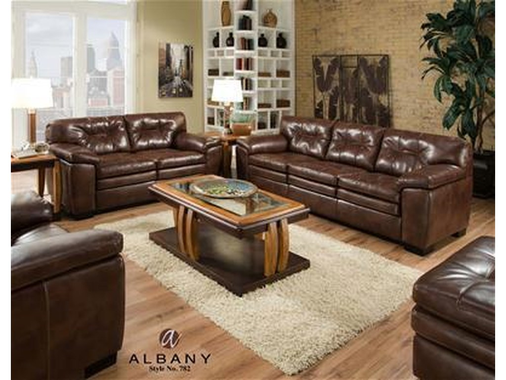 Albany 782Casual Love Seat