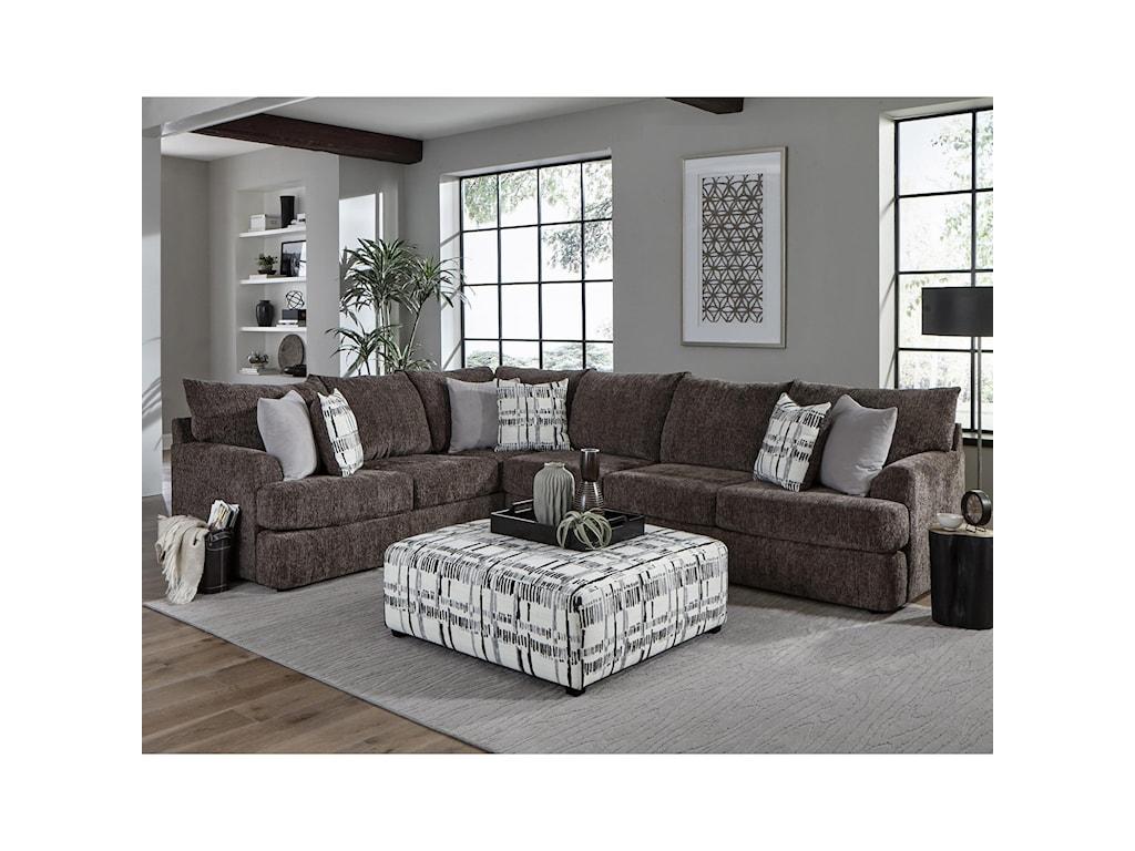 Albany 8620Sectional Sofa