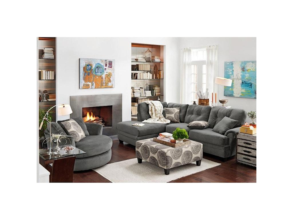 Albany 8632Sectional Sofa