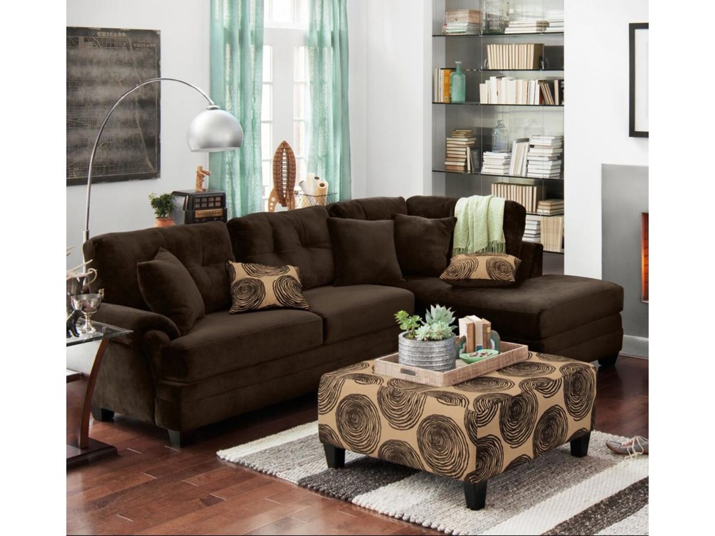 Albany 8632Sectional Sofa