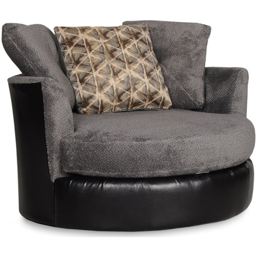 Albany 8640 Circular Swivel Chair