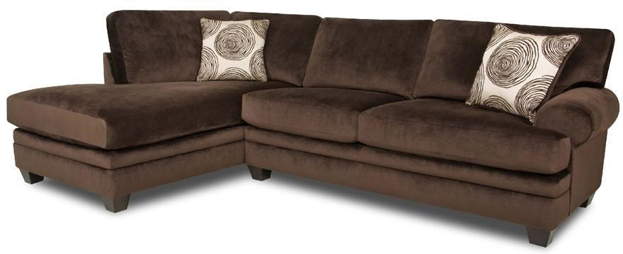 Albany 8642Transitional Sectional Sofa
